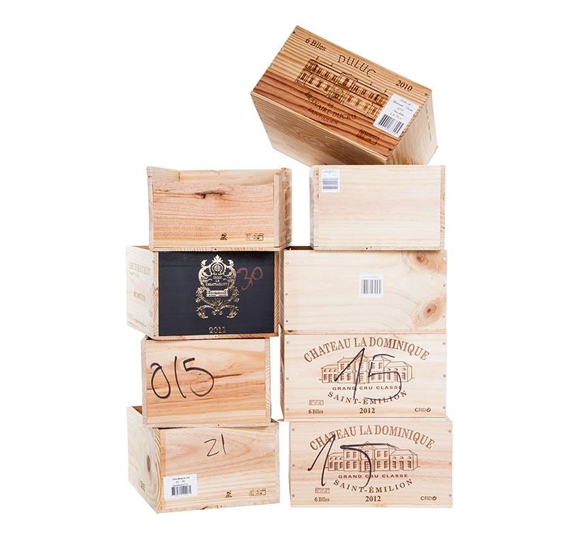 Meuble caisse de vin menuiserie castani exemples de r - Meuble en caisse de vin ...
