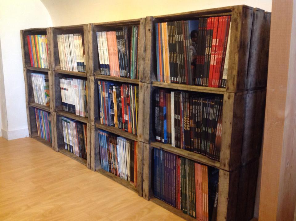 L 39 art de la caisse d couvrez les r alisations de nos fans - Como decorar una estanteria de madera ...