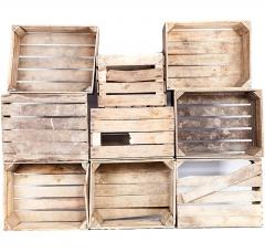 Pack voya 9 - Caisses en bois
