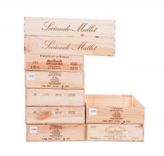 Pack flat-luxe 6-9 - Caisses à vin