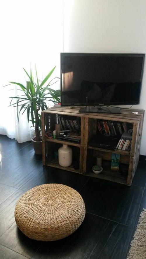 deco caisse pomme table basse caisse pomme avec pas bar le blog de b a et x nos ralisations et. Black Bedroom Furniture Sets. Home Design Ideas