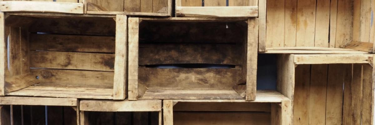 Décorer malin votre caisse en bois vintage